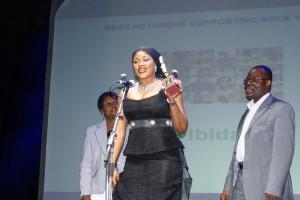 Bisi receives Best Actress Awards