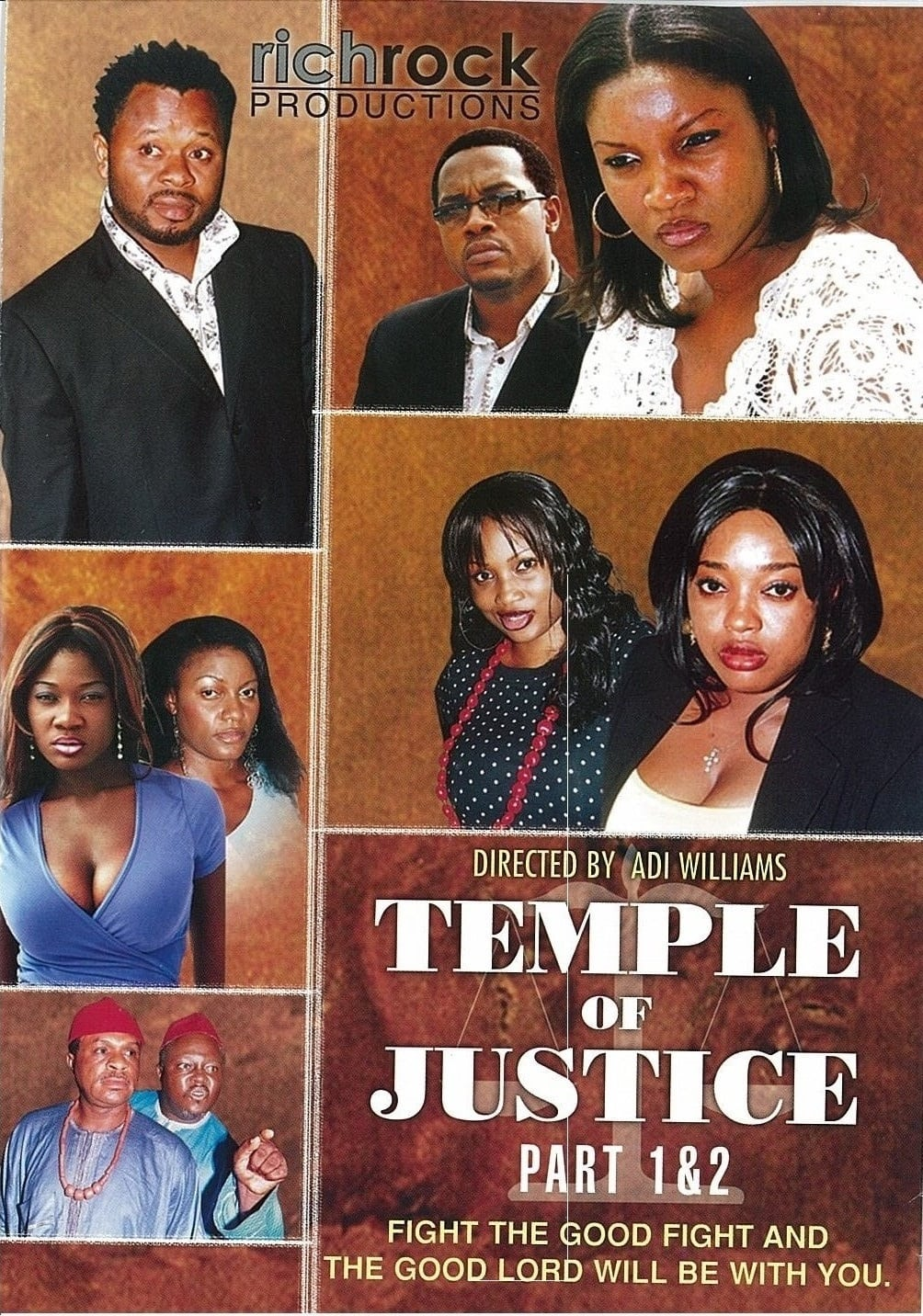 Temple of Justice Movie Poster